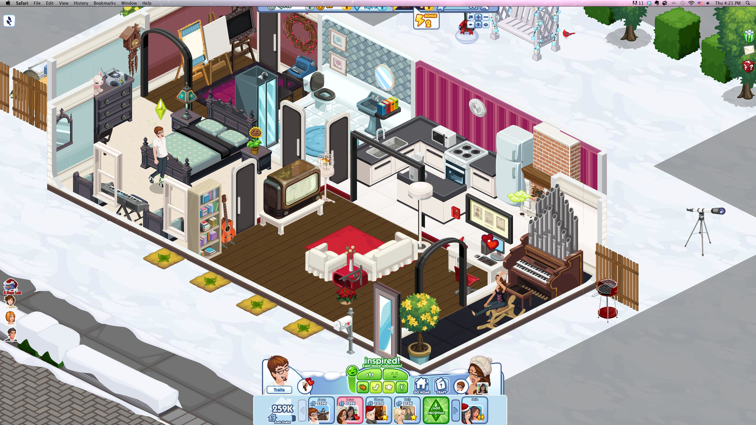 Now Playing The Sims Social Part 2 Downstab