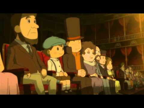 Film Review Professor Layton And The Eternal Diva Slickgaming