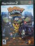 Ratchet and Clank Size Matters (PS2) Cover