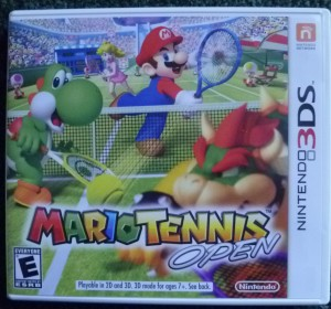 Mario Tennis Open Cover