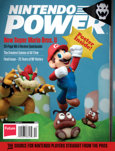 Nintendo Power Final Issue Cover