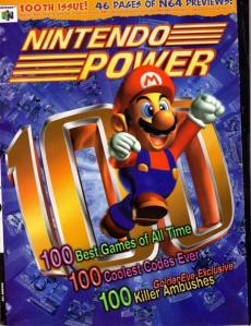Nintendo Power Issue 100 Cover