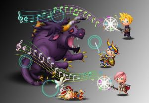 Theatrhythm Gameplay 3