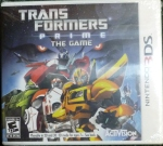 Transformers Prime (3DS) Cover