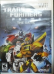 Transformers Prime (Wii) Cover