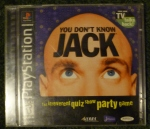 You Dont Know Jack (PS1) Cover