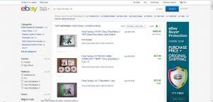 The listings now are all for items that have sold. eBay automatically changes the results to list the most recently sold items first.