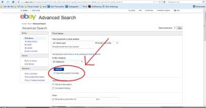 This will take you to a more in-depth search filter. Add in all the option you want, such as a price range, quality of item, and shipping cost. Then, be sure to check the highlighted box to save it to your searches (You have to be logged in to save searches, so create an account if you don't already have one).