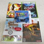 New Games (4-21-13)