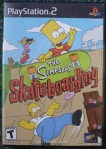 Simpsons Skateboarding Cover