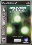 Splinter Cell Chaos Theory Limited Edition Cover