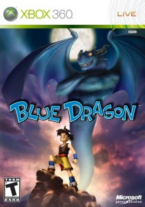 Blue Dragon is written by the same guy that created many Final Fantasy titles. Extra plus, it's also animated by the guy that does Dragon Ball Z and Dragon Quest!