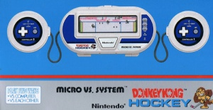 Donkey Kong Hockey Game and Watch