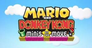 Mario and Donkey Kong Minis on the Move Logo