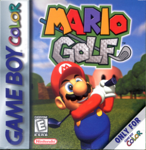 Mario Golf Game Boy Color Cover