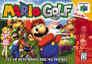 Mario Golf Nintendo 64 Cover