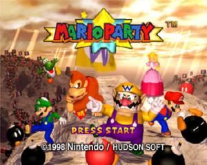 Mario Party 1 Title