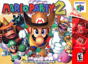 Mario Party 2 Cover
