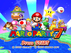 Mario Party 7 Title