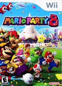 Mario Party 8 Cover