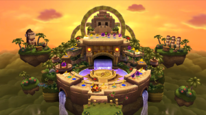 Mario Party 9 DK Jungle Ruins Board