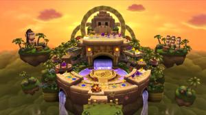 Mario Party 9 DK Jungle Ruins Board