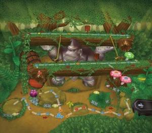 Mario Party DS Donkey Kong Board