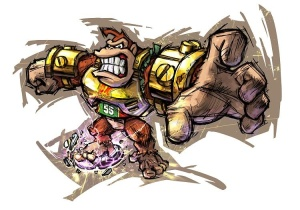 Mario Strikers Charged Donkey Kong