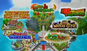 Mario Super Sluggers Stages
