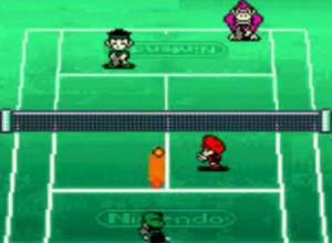 Mario Tennis Game Boy Color Screen