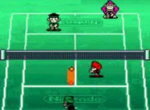 Mario Tennis Game Boy Color Screen