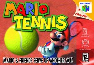 Mario Tennis Nintendo 64 Cover