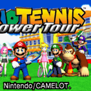 Mario Tennis Power Tour Title