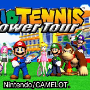Mario Tennis Power Tour Title