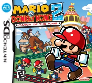 Mario vs Donkey Kong 2 DS Cover