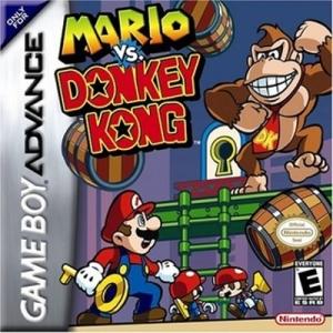 Mario vs Donkey Kong Game Boy Advance Cover