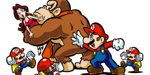Mario vs Donkey Kong Mini-Land Mayhem Art