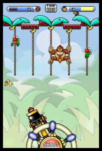 Mario vs Donkey Kong Minis march Again Screen