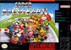 Super Mario Kart Cover