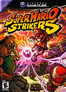 Super Mario Strikers Cover
