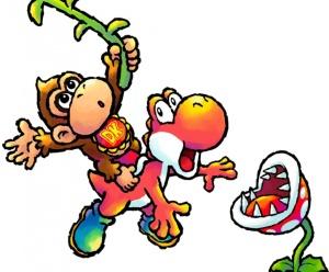 Yoshis Island DS Baby Donkey Kong