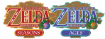 Oracle of Seasons Ages Logos