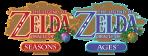 Oracle of Seasons Ages Logos