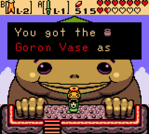 Gorons are back and apparently bigger than mountains!