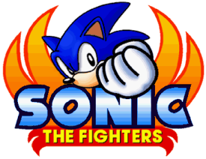 Sonic the Fighters Logo