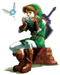 Ocarina of Time Link and Navi