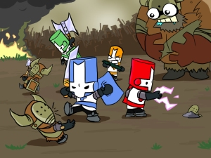 Castle Crashers Art