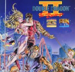Double Dragon II Art
