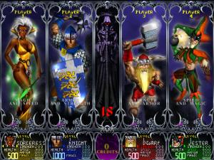 Gauntlet Dark Legacy Character Select