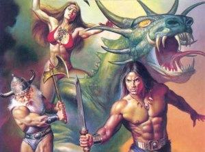 Golden Axe II Art